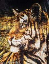 Couverture couverture couverture de jour couverture plaid motif tigre noir 160x200cm