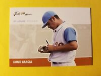 JAIME GARCIA * RC ROOKIE #JA-16 ST LOUIS CARDINALS * 2007 JUST MINORS JUST AUTOS
