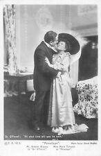 POSTCARD  ACTRESSES MARIE TEMPEST & GRAHAM BROWNE