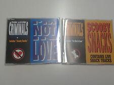 Fun Lovin Criminals I'm Not In Love / Scooby Snacks 2 part CD Single set