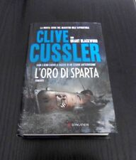 L'oro di Sparta - Clive Cussler & Grant Blackwood - Prima Edizione Longanesi -
