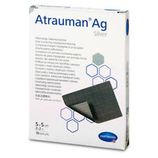 ATRAUMAN Ag Silver - 5x5cm steril - Silberhaltige Salbenkompressen (x10 st)