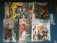 MARVEL COMICS  -   SERIE IRON MAN  DE 1 à 12 ( 2016 - 2017 ) + HS 1 2 3 4