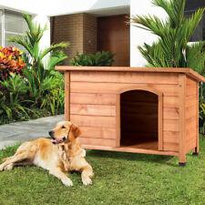 casa para perro grande comodo calidad hecho d madera resistente al exterior agua