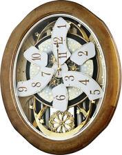 Rhythm Clocks Joyful Anthology Musical Wall Clock (4MH420WU06)