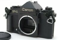 Canon New F-1 F1 Eye Level 35mm SLR Film Camera Body From Japan NEAR MINT