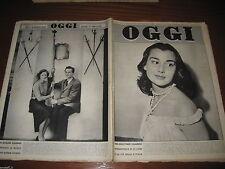 OGGI=1955/37=MISS ITALIA BRUNELLA TOCCI=GIORGIO SAVONUZZI=SAN GENNARELLO=BELL M.