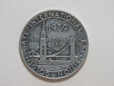 1939 Golden Gate Expo Aluminum Medal - Union Pacific Overland
