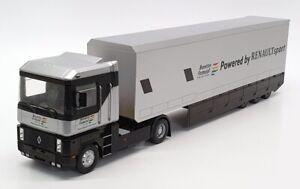 Ixo 1/43 Scale 27519F1 - Renault Magnum F1 Car Transporter Truck - Benetton