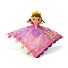Infantino Sparkle Soft & Snuggly Lovie Pal Pink Girl Princess Blanket Teether