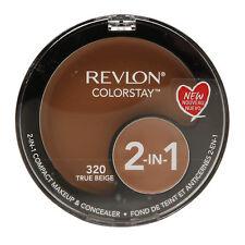 Revlon Foundation Colorstay 2 in 1 True Beige 320 Compact Makeup & Concealer