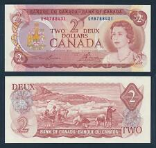 [77340] Canada 1974 2 Dollars Bank Note UNC P86a