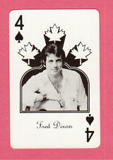 Fred Dixon Vintage Canadian Country Music Playing Card