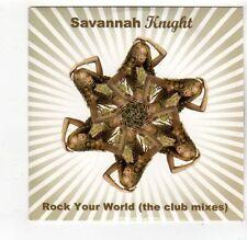 (FQ211) Savannah Knight, Rock Your World - 2006 DJ CD