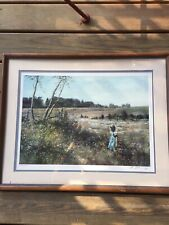 """Adolf Sehring """"Sunny Moments"""" Lithograph Hand signed in pencil  AUTHENTIC 17x23"""""""