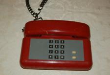 Telefono Fisso con filo Tim Sirio Rosso bordeau - Telefono vitage anni 80-90