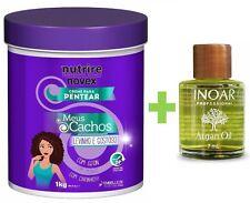 Brazilian Professional Treatment Cream For Curly Hair Ojon Monoi Oil 1x34oz