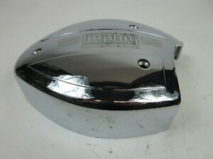 2004-Up Big Dog Used OEM Chrome Air Cleaner Filter Cover Intake BDM Logo #7