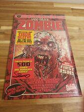 Lucio Fulci Zombie Limited Ed. Eibon Sleeve Signed 500