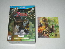 The Legend of Zelda: Twilight Princess HD w/Wolf Amiibo w/Sound Selection WII U