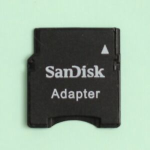 Genuine SanDisk Micro SD to Mini SD Memory Card Adapter
