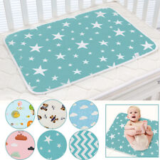 Washable Waterproof Breathable Infant Pad Crib Sheet Water Absorbent Mattress
