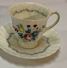 Royal Doulton The Chelsea Rose Demitasse Cup and Saucer Set