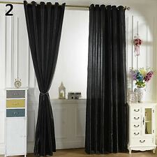 HK- Solid Window Room Panel Shade Curtain Drape Blind Valance Home Decor Amusing