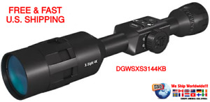 ATN X-SIGHT 4K Buck Hunter Smart Riflescope Ballistic Rangefinder 3-14x ULTRA HD