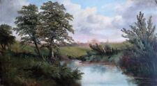 Landscape Oil on board c1900/20 Unsigned British School