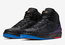 386e1f20d673b8 2019 Nike Air Jordan 2 II BHM Retro SZ 9 Black Metallic Gold BQ7618-007