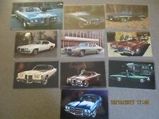 Your choice from a lot of 10 Different Pontiac Postcards Excellent Con Grp 112