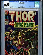 Thor #133  CGC 6,0 FN Marvel Comics 1966 1st full Ego Kirby Art K9 Amricons