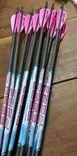 DZ New  Black Eagle Ps23 500/.001 Complete Arrows/AAE  Max  Stealth Fletchings