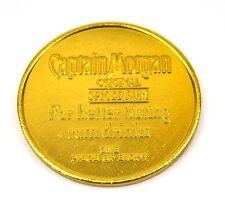 Captain Morgan aluminum doblón moneda token chip Gold-de colores