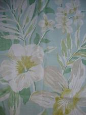 58x100 & 57x136cm SANDERSON Samaya curtain cotton/linen fabric remnant  orchid