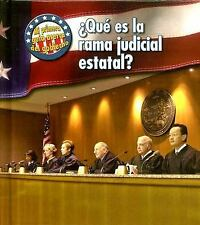 Que Es La Rama Judicial Estatal?/ What's the State Judicial Branch?-ExLibrary