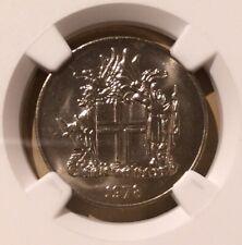 1978 ICELAND 10 Krónur NGC 66 - Copper-Nickel - Top Pop!!!
