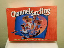 1994 CHANNEL SURFING THE GAME THAT WILL CHANGE THE WAY YOU SEE TV! NEW SEALED ^