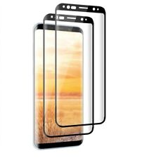[2 Pack]Samsung Galaxy S8 Plus Screen Protector Full Coverage 3D Tempered Glass