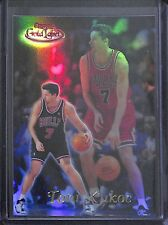 1999-2000 Topps Gold Label Red #51 Class 1 Toni Kukoc No 6 of 100