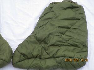 Tent Boots Arctic, olive Thermo Füßlinge, für Zelt oder Schlafsack
