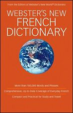 Webster French Dictionary Harrap's 2009 Fr/Eng Words Phrases Idioms