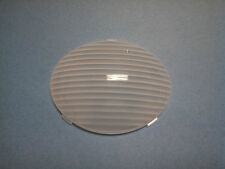FLEETWOOD RV CLEAR PORCH LIGHT LENS, OVAL, SNAP-IN   (LENS ONLY)