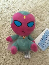 """Funko Mopeez: Captain America Civil War VISION 4"""" Plush - New with tags"""