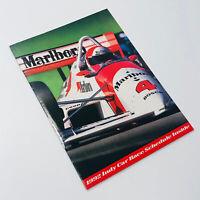 Rare Vintage 1992 MARLBORO WORLD CHAMPIONSHIP Indy Car Racing Poster/Calendar BK