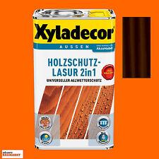 Xyladecor Holzschutz - Lasur palisander 5 Liter Holzlasur Holzschutz Lasur Neu