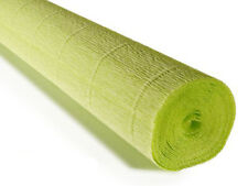 Crepe paper roll 180g (50X250cm) Lime (shade 558)