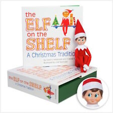 Elf on the Shelf Christmas Tradition Box set with Official Light Skin Boy & Book