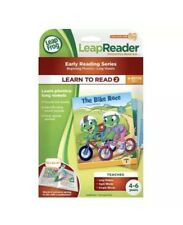 LeapFrog LeapReader LEARN TO READ 2 , Phonics, Long Vowels, Boxed Set Of 6 Books